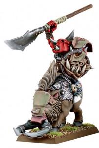 Khorne Ork Warboss