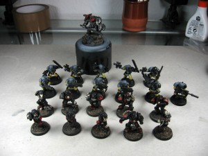 Legion, Scouts und Inquisitor