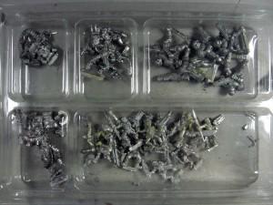 Entfärbte Miniaturen