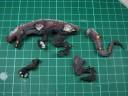 Echsenmenschen Riesensaurier