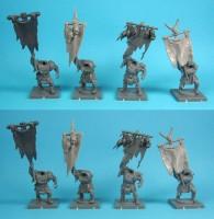 Kings of War - Ork Standartenträger für Morax und Gorax
